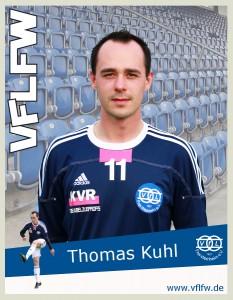 Beruflich noch mindestens 4 Wochen ausser Gefecht und schmerzlich vermisst, Linksfuß Thomas Kuhl
