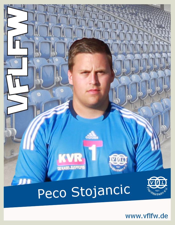 ...sorgte mit einem gehaltenen Elfmeter, kurzzeitig für Hoffnung, Peco Stojancic