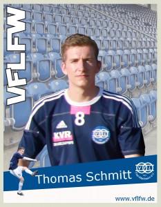 Überragender Akteur auf der Seite des VfL, Thomas Schmitt