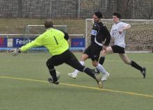 Krönte seine gute Leistung gegen Bretzenheim mit dem 1. Saisontreffer, Taha Altemir