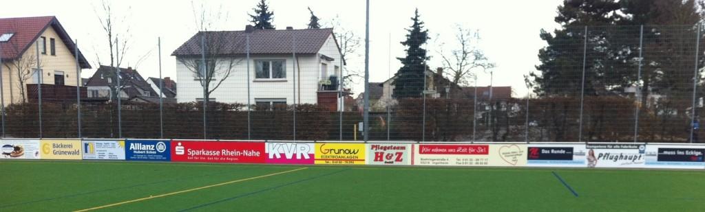 Bandenwerbung VfL Frei-Weinheim