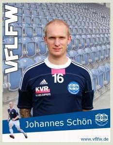 Wieder mit von der Partie, Johannes Schön