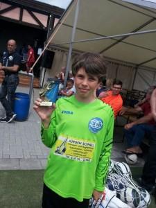 Bester Torhüter des Turniers, VfLFW Keeper Leon