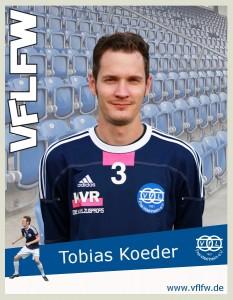 Fehlt uns nächste Woche gegen Basara, Comebacker Tobias Koeder